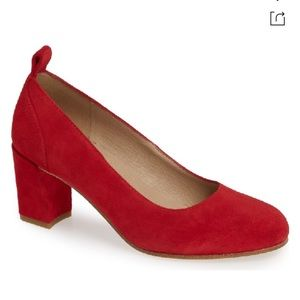 Eileen Fisher Lela Red Pumps